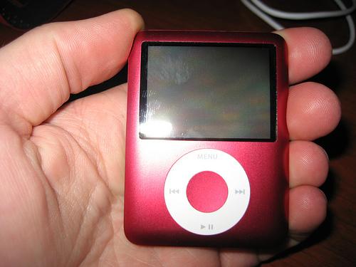 Gabe's iPod Nano