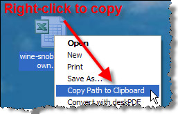 Copy Path to Clipboard