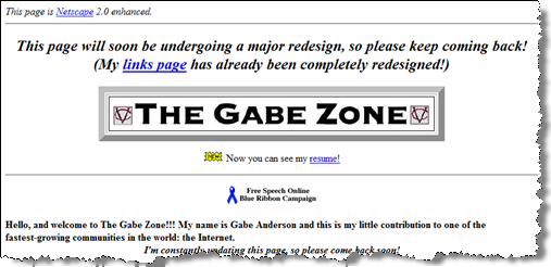 The Gabe Zone 1996