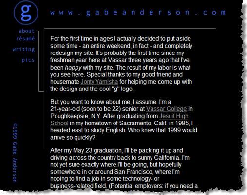 gabeanderson.com 1998