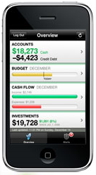 Mint.com iPhone app